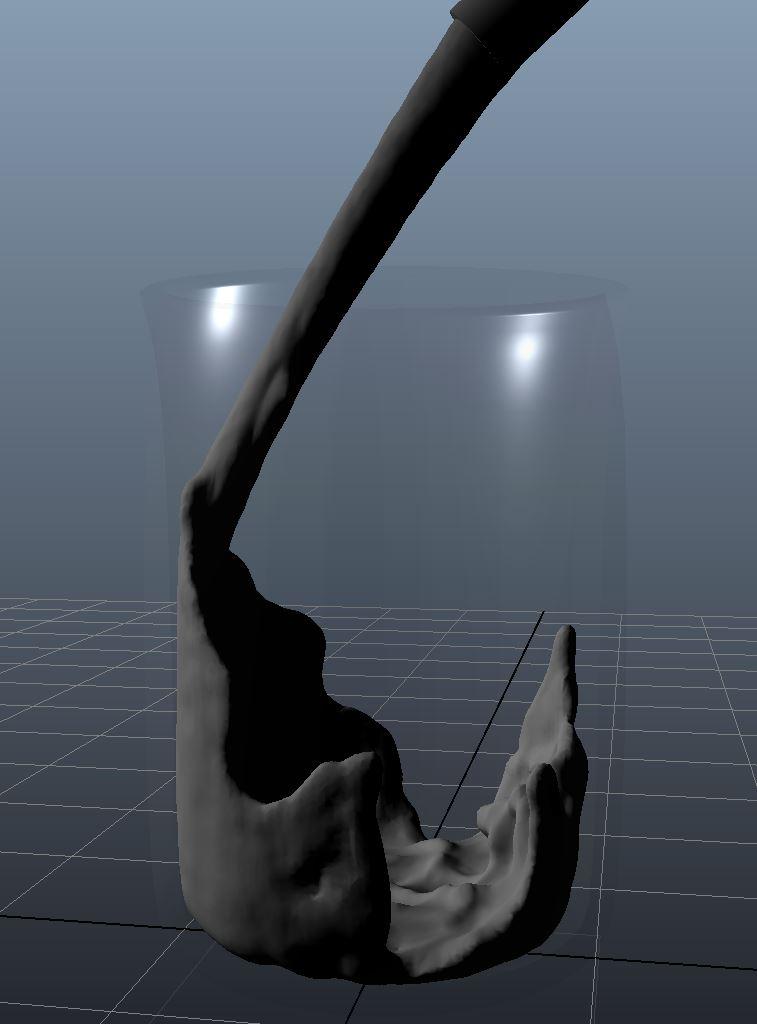 Milk Pour BiFrost example scene