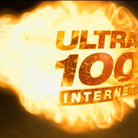 "Cable One ""Fireball Ultra 100 Internet"""