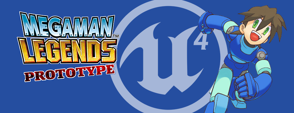 Mega Man Legends – UE4 Redux: Environmental Gameplay